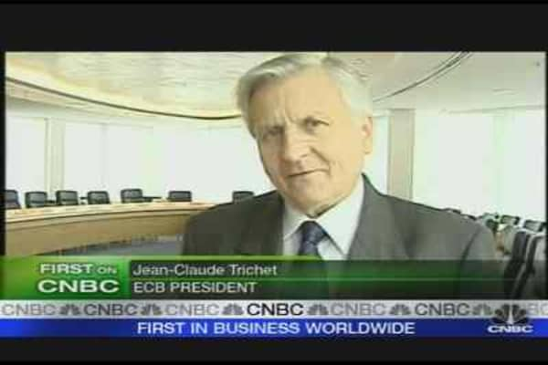 ECB's Trichet on Interest Rates