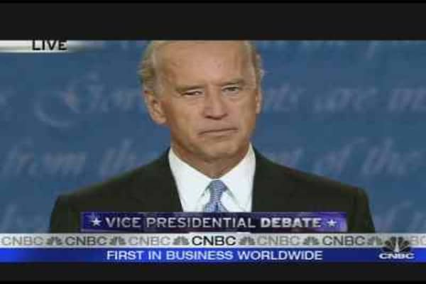 Biden's Closing Statement