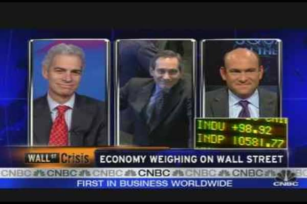 Economy Weighing on Wall Street
