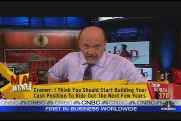 Cramer's Five-Year Plan