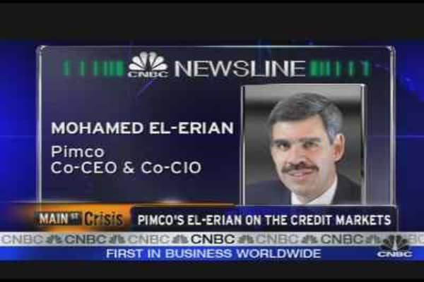 Pimco's El-Erian on the Markets