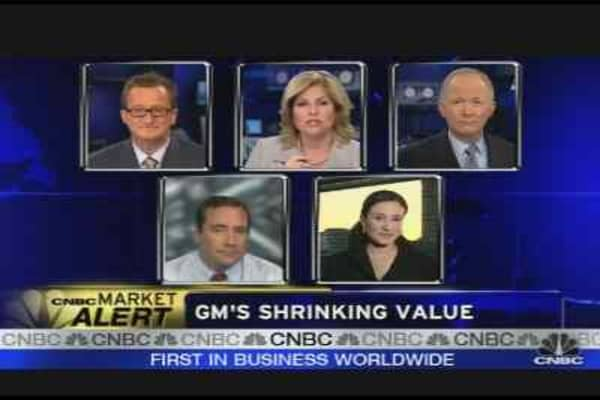 GM's Shrinking Value