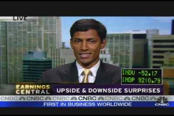 Earnings: Upside & Downside Surprises