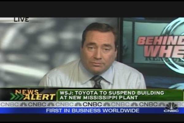Auto Bailout Fails