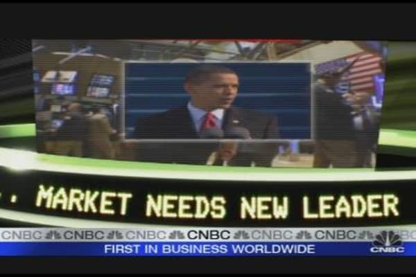Market Needs New Leader
