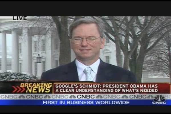 Google CEO on the Stimulus