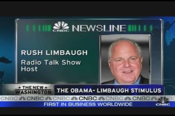 The Obama-Limbaugh Stimulus