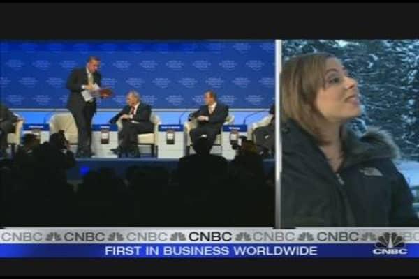 Turkish PM Walks Out of Davos Meeting