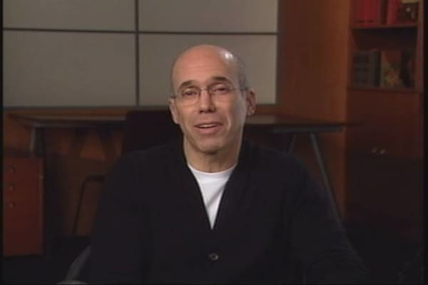 Jeffrey Katzenberg Exclusive