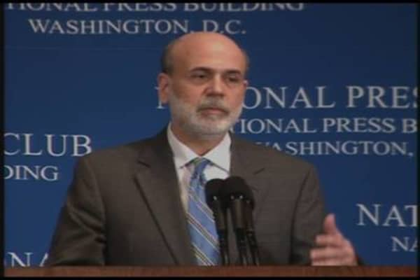 Bernanke Slips?
