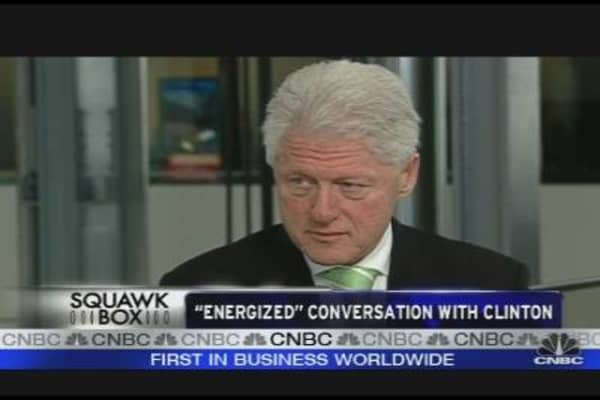 Bill Clinton on the Future of Energy
