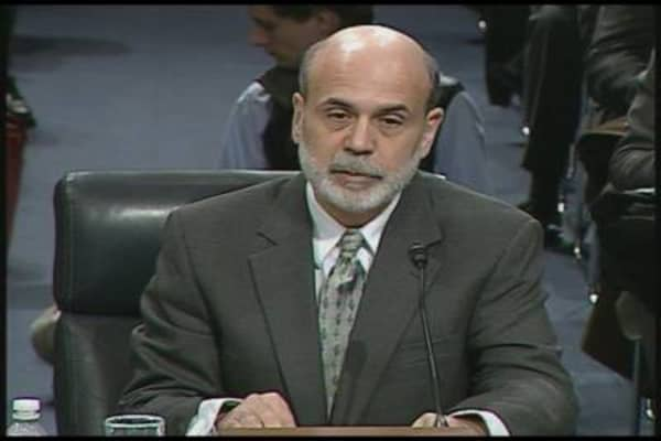 Fed Chairman Ben Bernanke Testimony