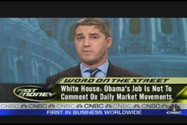 Obama: A Market Timer?