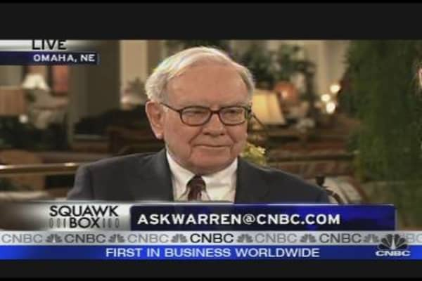 E-mail for Warren Buffett