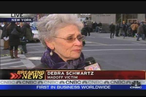 Bernie Madoff Victim Goes to Court