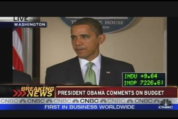 President Obama Comments on Budget