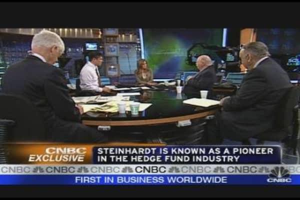 Hedge Fund Titans Discuss 'This Mess'