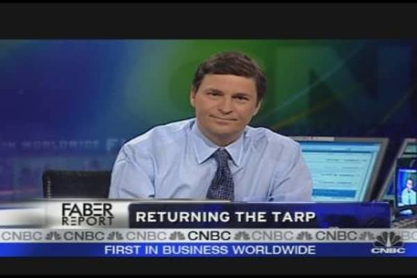 Returning the TARP