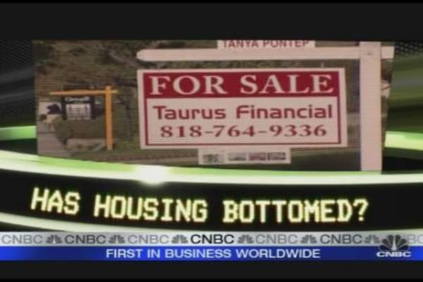 Has Housing Bottomed?