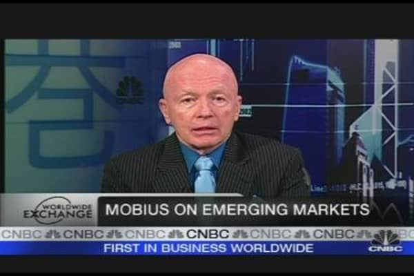 Look to Emerging Markets: Mobius