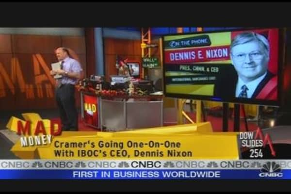 Cramer's Bank Lesson