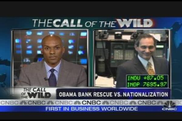 Obama Bank Rescue vs. Nationalization