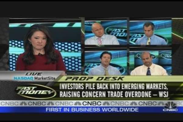 Global Markets Beating U.S.