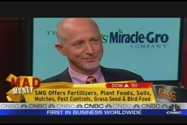 Scotts Miracle-Gro CEO