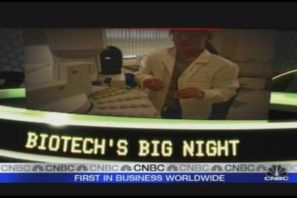 Biotech's Big Night