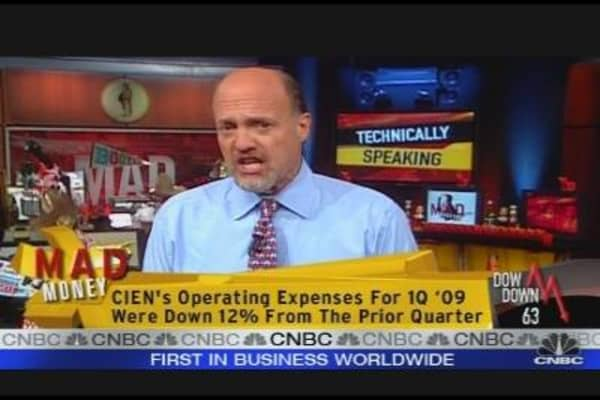 Cramer: Ciena a Great Speculative Play