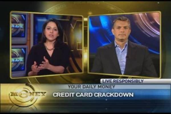 Credit Card Crackdown