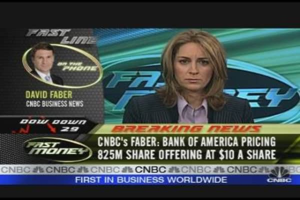 Faber on BofA Offering