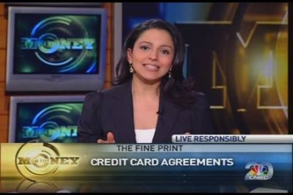 The Fine Print: Credit Card Agreements