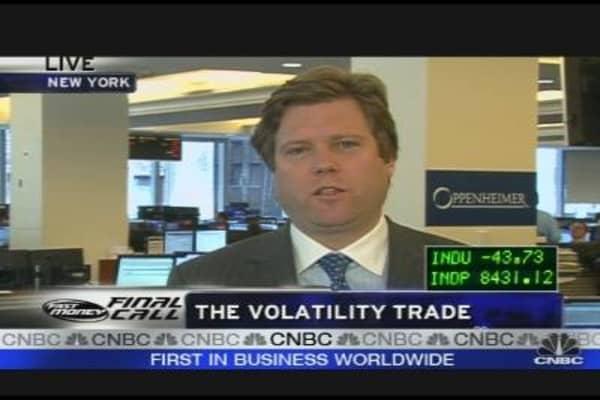 VIX Retreats to Pre-Lehman Bankruptcy Levels