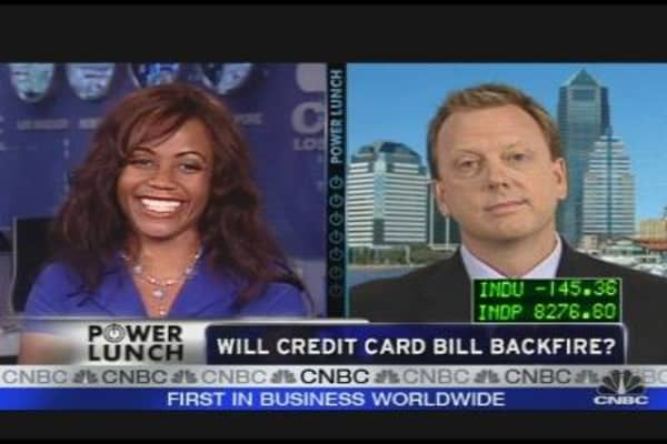 Credit Card Bill: Will it Backfire?