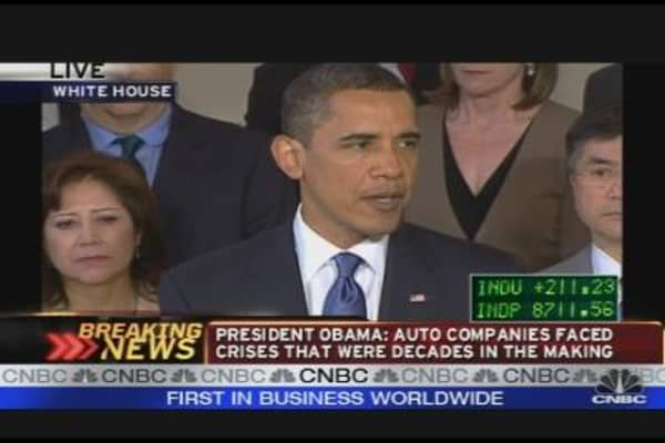 President Obama on the Auto Industry