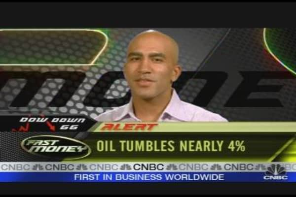 Energy Leads Market Drop