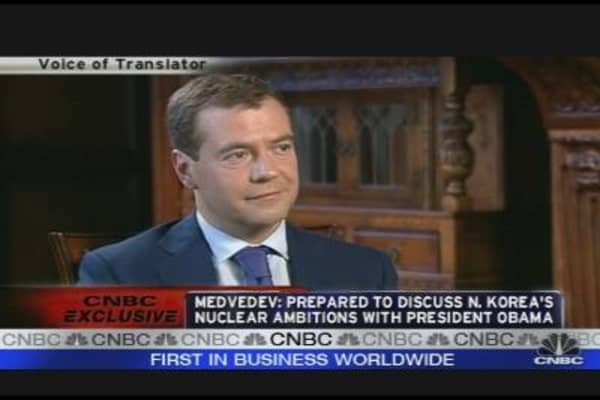One-On-One With Medvedev