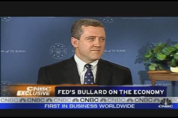 Fed's Bullard on the Economy