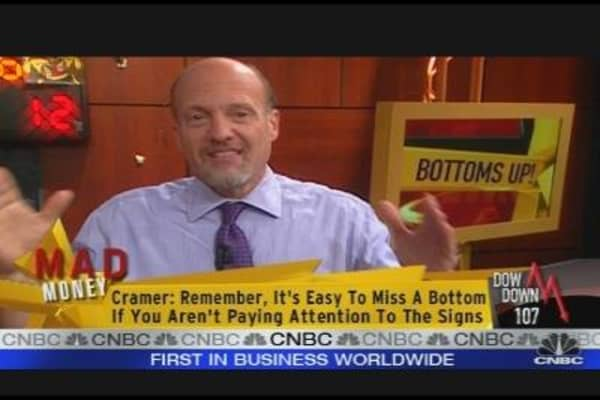Cramer: Bottoms Up!