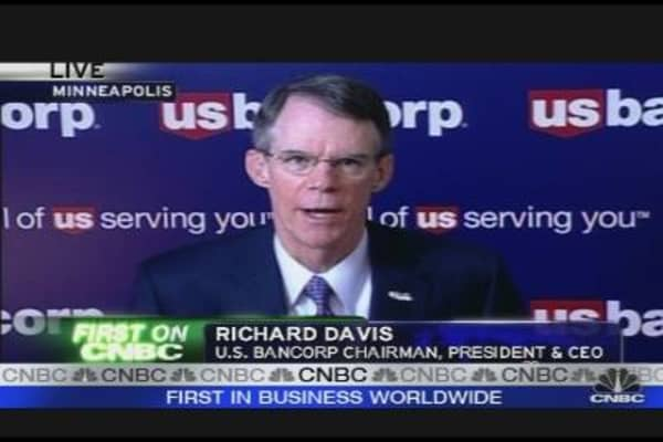 US Bancorp CEO on TARP Repayment