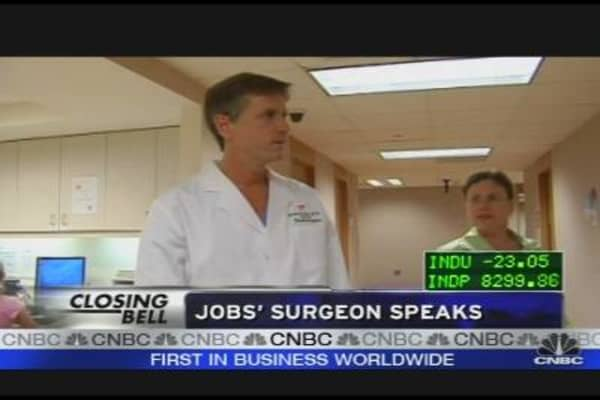 Jobs' Surgeon Speaks