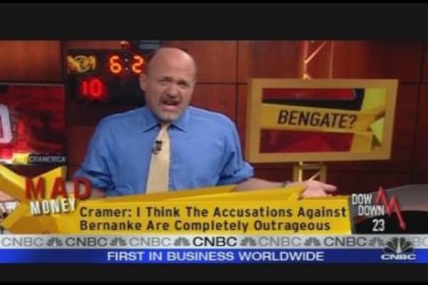 Cramer On Bernanke