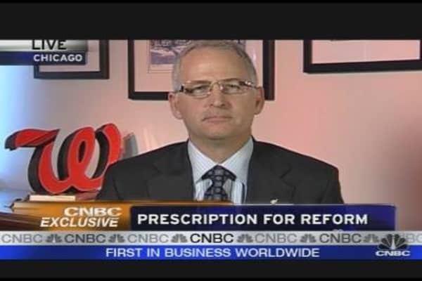 Walgreen CEO on Healthcare Reform