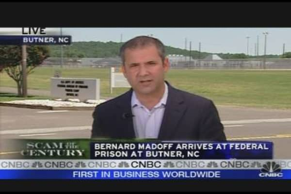 Madoff Arrives at North Carolina Prison