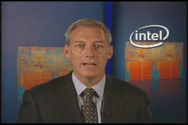 Intel CFO on Earnings