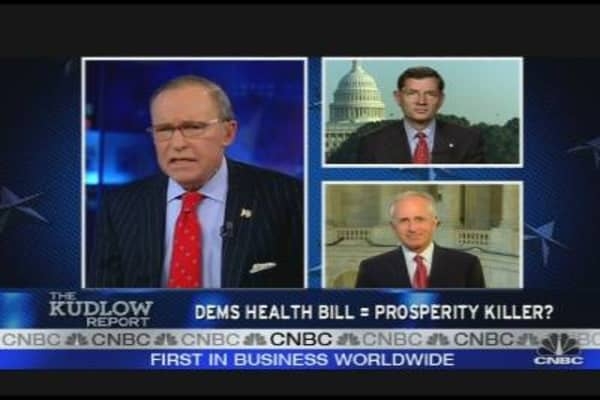 Dems Health Bill = Prosperity Killer?