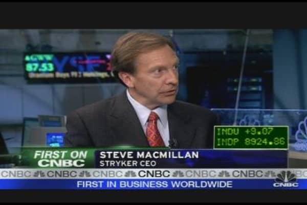 Stryker CEO on Earnings, Outlook