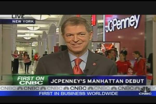 JC Penney Makes Manhattan Debut