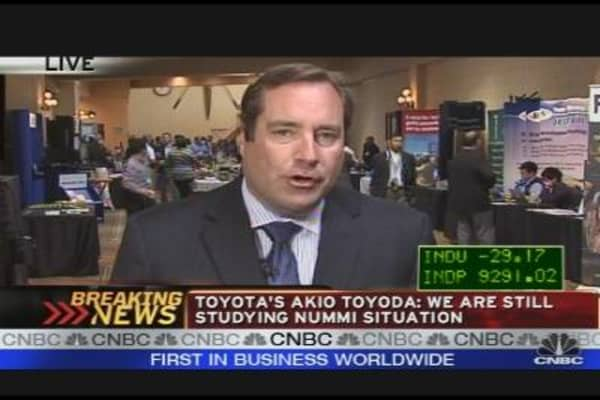 Toyota President: We're Fast Approaching Peak Oil